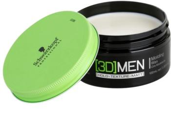 Schwarzkopf Professional [3D] MEN vosak za kosu